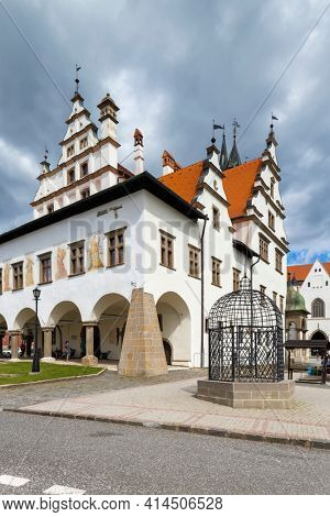 Old Town Hall in Levoca, UNESCO site, Slovakia