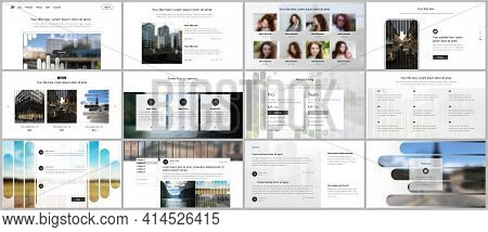 Vector Templates For Website Design, Presentations, Portfolio. Templates For Presentation Slides, Fl