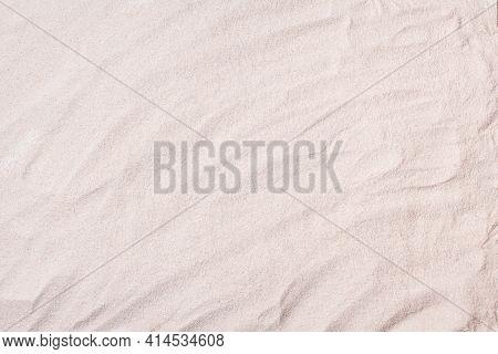 Sand Texture Background. Summer Beach Top View