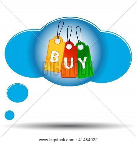 Three Buy Labels