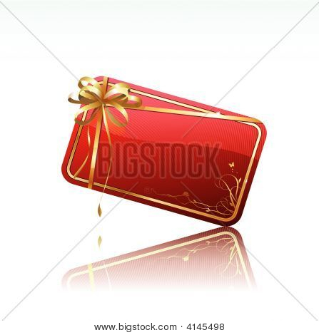 Decorated Gift Card