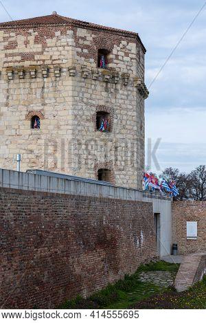 Nebojsa Tower, Medieval Dungeon In The Belgrade Fortress In Belgrade, Serbia