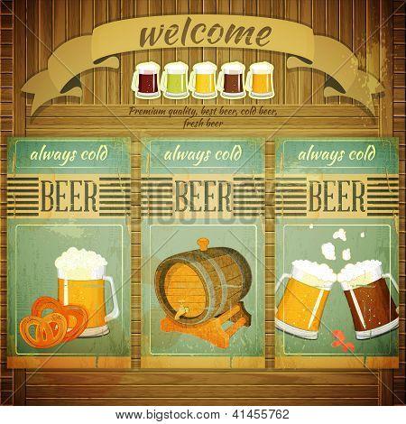 Pub Beer Menu