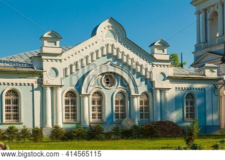 Fragment Of The Facade Of The Church Of The Ascension In The City Of Kalyazin, Russia, With Pictures