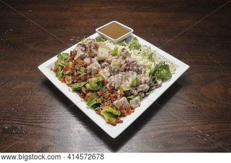 Delicious And Delectable Dish Known As A Waldorf Chicken Salad