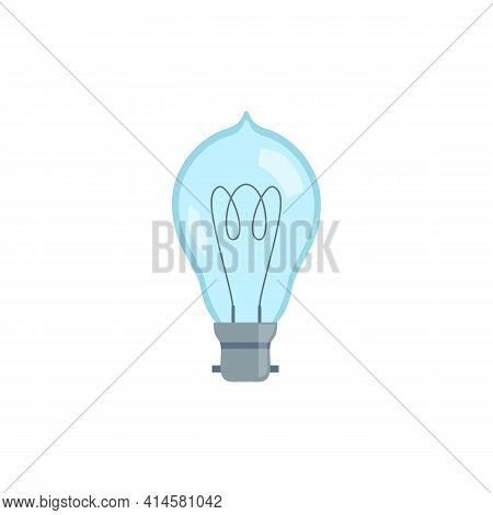 Electric Light Bulb, Glass Energy Lamp With An Incandescent Filament