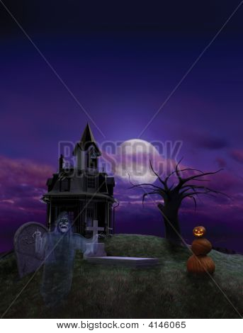 Halloween Flier Background