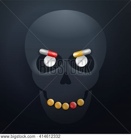 Dangerous Drug Overdoses Or Fake Drugs Cause Of Accidental Death, Lethal Combinations Of Medications