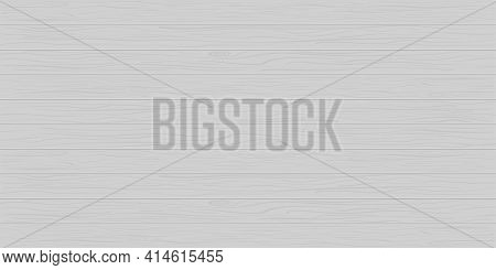 Wood Texture. White Wooden Background. Gray Table Or Floor. Pattern For Plank And Wooden Wall. Old W