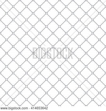 Cross Lined Seamless Minimalistic Pattern, Vector Minimal Crossed Lines Background, Stripy Tile Mini