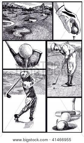Golf-storyboard