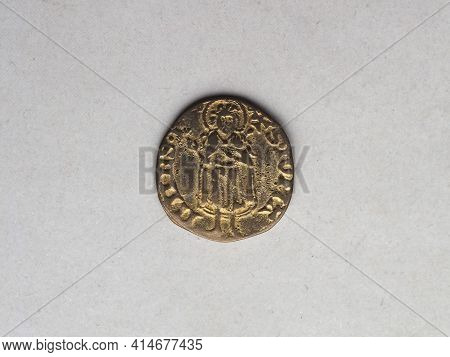 Gold Florin (fiorino D'oro) Coin Issued Circa 1256 In Florence, Italy