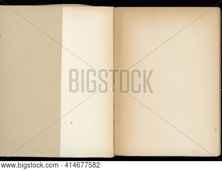 Rimmed Paper Texture Useful As A Background