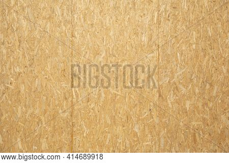 Part Of A Wooden House From Sip Panels.
