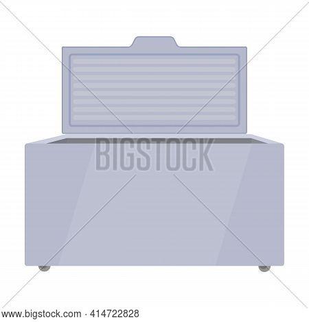 Freezer Vector Icon.cartoon Vector Icon Isolated On White Background Freezer.