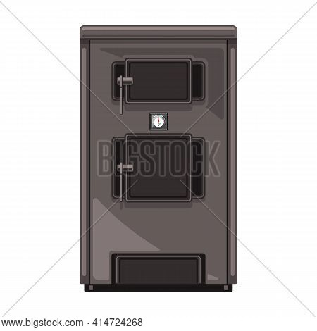 Boiler Vector Icon.cartoon Vector Icon Isolated On White Background Boiler.