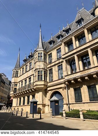 Luxembourg City, Luxembourg - August 27, 2019: Grand Duke Palace, In Luxembourg