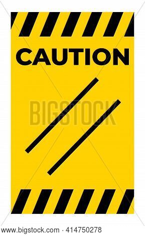 Caution Reset Symbol Sign On White Background