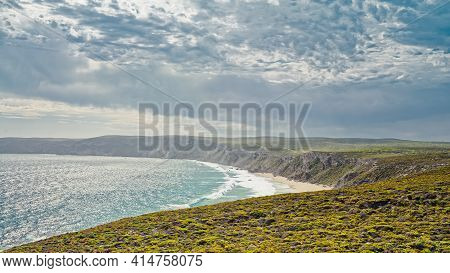 Weirs Cove Viewed From Remarkable Rocks, Flinders Chase National Park, Kangaroo Island, South Austra