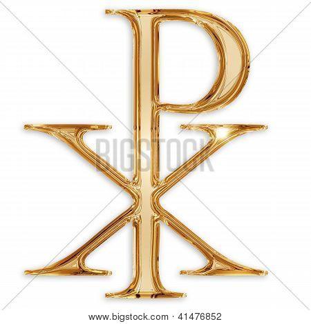 chi rho christian symbol