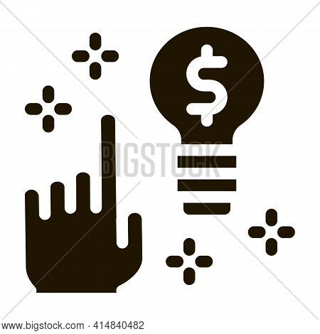 Quick Wit Decision Glyph Icon Vector. Quick Wit Decision Sign. Isolated Symbol Illustration