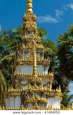 budhist temple in Phuket Thailand