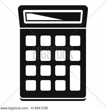 University Calculator Icon. Simple Illustration Of University Calculator Vector Icon For Web Design
