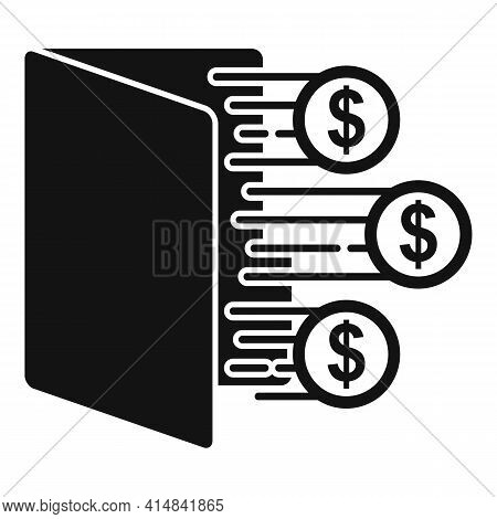 Trader Desk Icon. Simple Illustration Of Trader Desk Vector Icon For Web Design Isolated On White Ba