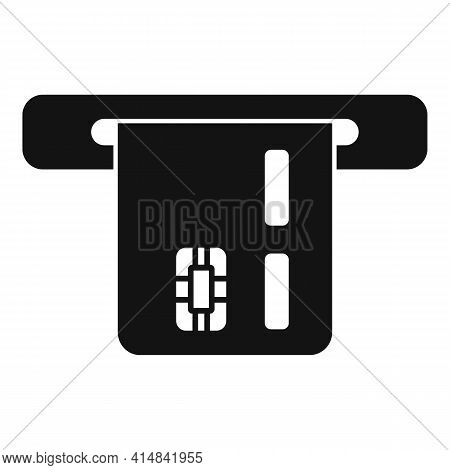 Trader Bank Card Icon. Simple Illustration Of Trader Bank Card Vector Icon For Web Design Isolated O