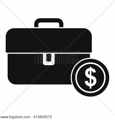 Trade Money Case Icon. Simple Illustration Of Trade Money Case Vector Icon For Web Design Isolated O