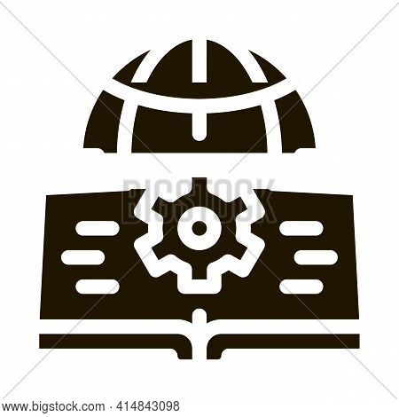 Soil Science Glyph Icon Vector. Soil Science Sign. Isolated Symbol Illustration