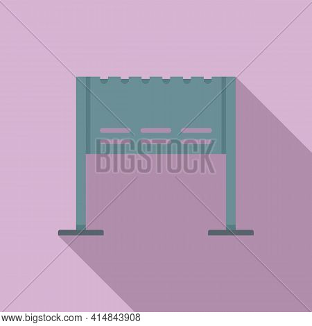Lounge Brazier Icon. Flat Illustration Of Lounge Brazier Vector Icon For Web Design