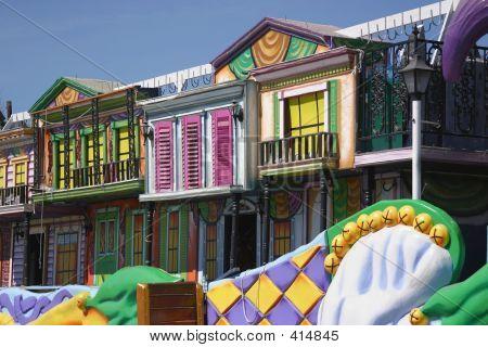 Mardi Gras Float Details