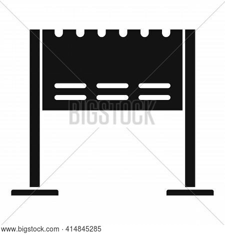 Lounge Brazier Icon. Simple Illustration Of Lounge Brazier Vector Icon For Web Design Isolated On Wh