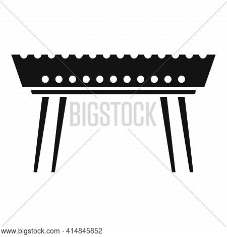 Beef Brazier Icon. Simple Illustration Of Beef Brazier Vector Icon For Web Design Isolated On White