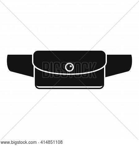 Waist Bag Accessory Icon. Simple Illustration Of Waist Bag Accessory Vector Icon For Web Design Isol