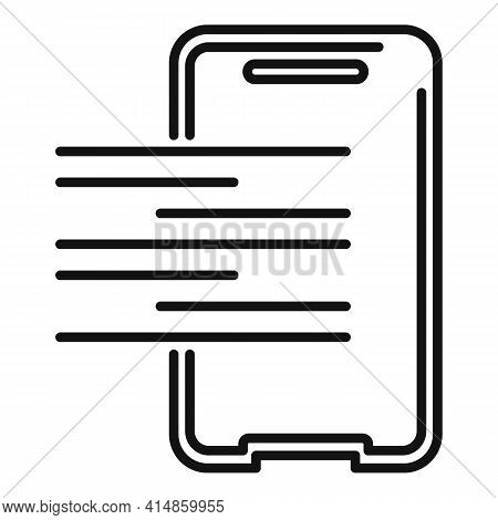 Resistant Protective Glass Icon. Outline Resistant Protective Glass Vector Icon For Web Design Isola
