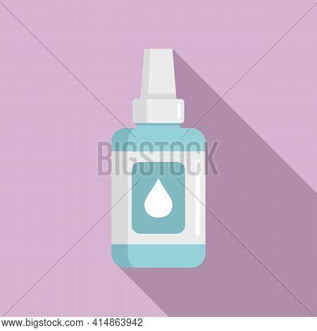 Antiseptic Body Care Icon. Flat Illustration Of Antiseptic Body Care Vector Icon For Web Design
