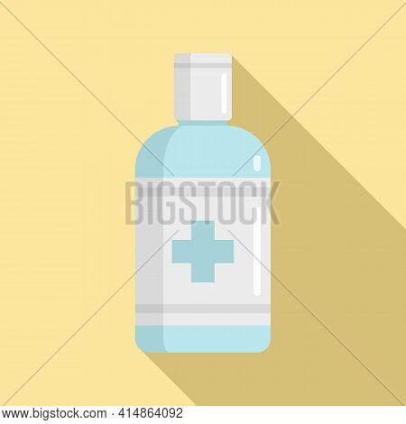 Antiseptic Hygiene Icon. Flat Illustration Of Antiseptic Hygiene Vector Icon For Web Design