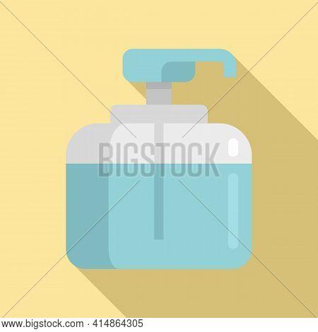 Safe Antiseptic Icon. Flat Illustration Of Safe Antiseptic Vector Icon For Web Design