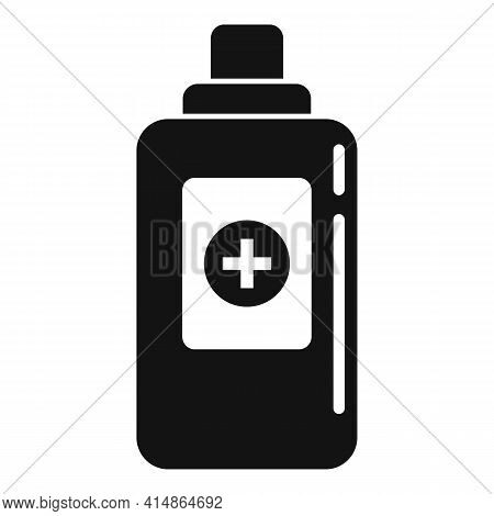 Antiseptic Alcohol Icon. Simple Illustration Of Antiseptic Alcohol Vector Icon For Web Design Isolat