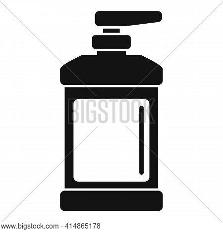 Coronavirus Dispenser Antiseptic Icon. Simple Illustration Of Coronavirus Dispenser Antiseptic Vecto