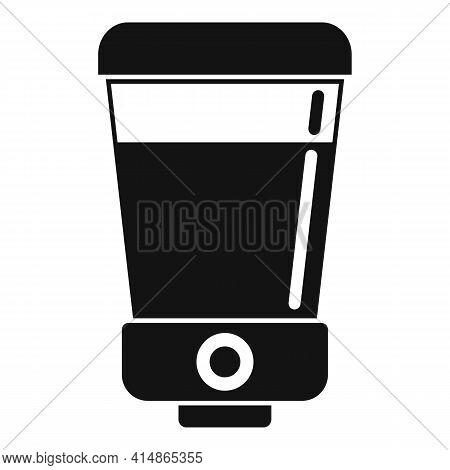 Soap Wall Dispenser Icon. Simple Illustration Of Soap Wall Dispenser Vector Icon For Web Design Isol