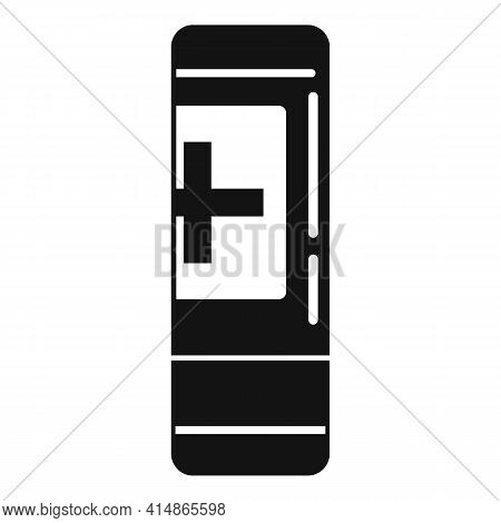 Foam Antiseptic Icon. Simple Illustration Of Foam Antiseptic Vector Icon For Web Design Isolated On