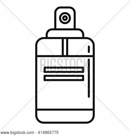 Antiseptic Spray Icon. Outline Antiseptic Spray Vector Icon For Web Design Isolated On White Backgro