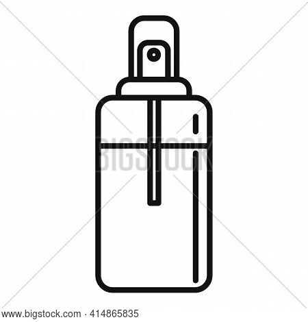 Safe Antiseptic Icon. Outline Safe Antiseptic Vector Icon For Web Design Isolated On White Backgroun