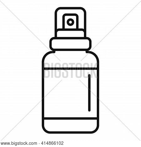 Foam Antiseptic Icon. Outline Foam Antiseptic Vector Icon For Web Design Isolated On White Backgroun