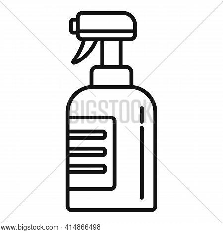 Antibacterial Spray Icon. Outline Antibacterial Spray Vector Icon For Web Design Isolated On White B