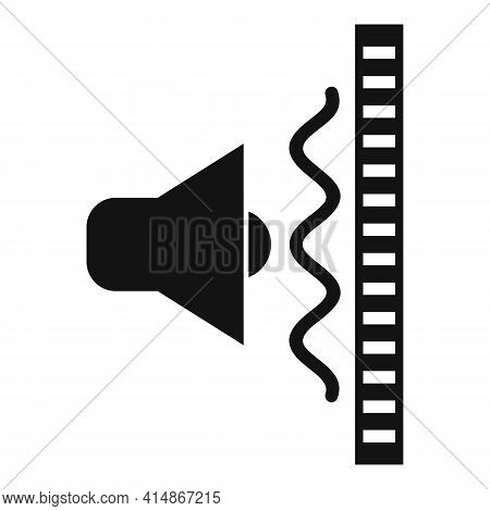 Sound Wall Barrier Icon. Simple Illustration Of Sound Wall Barrier Vector Icon For Web Design Isolat