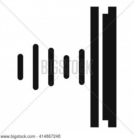 Soundproofing Studio Icon. Simple Illustration Of Soundproofing Studio Vector Icon For Web Design Is